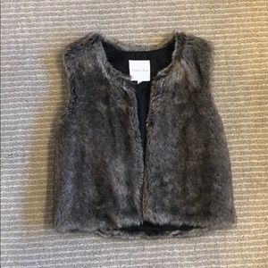 Copper Key Girls Fur Vest (not real animal fur) :)